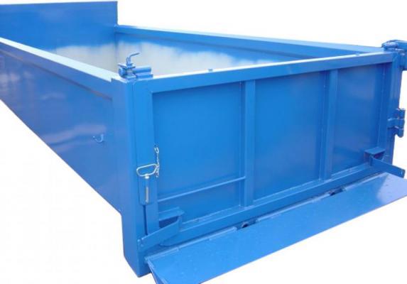 Z najazdem podnoszonym hydraulicznie (Hardox)
